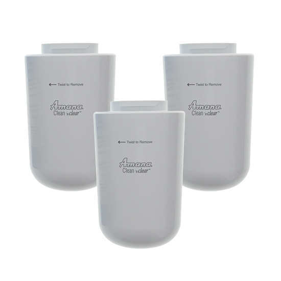 Amana 12527304 Clean 'n Clear Refrigerator Water Filter (3-Pack) at Sears.com