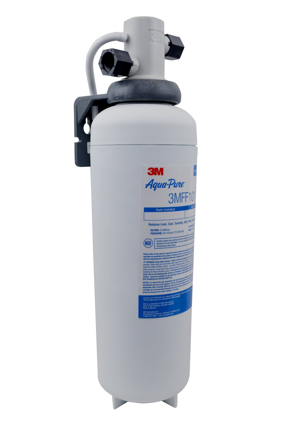 3m Aqua Pure 3mff100 Full Flow Drink Water Filtration System