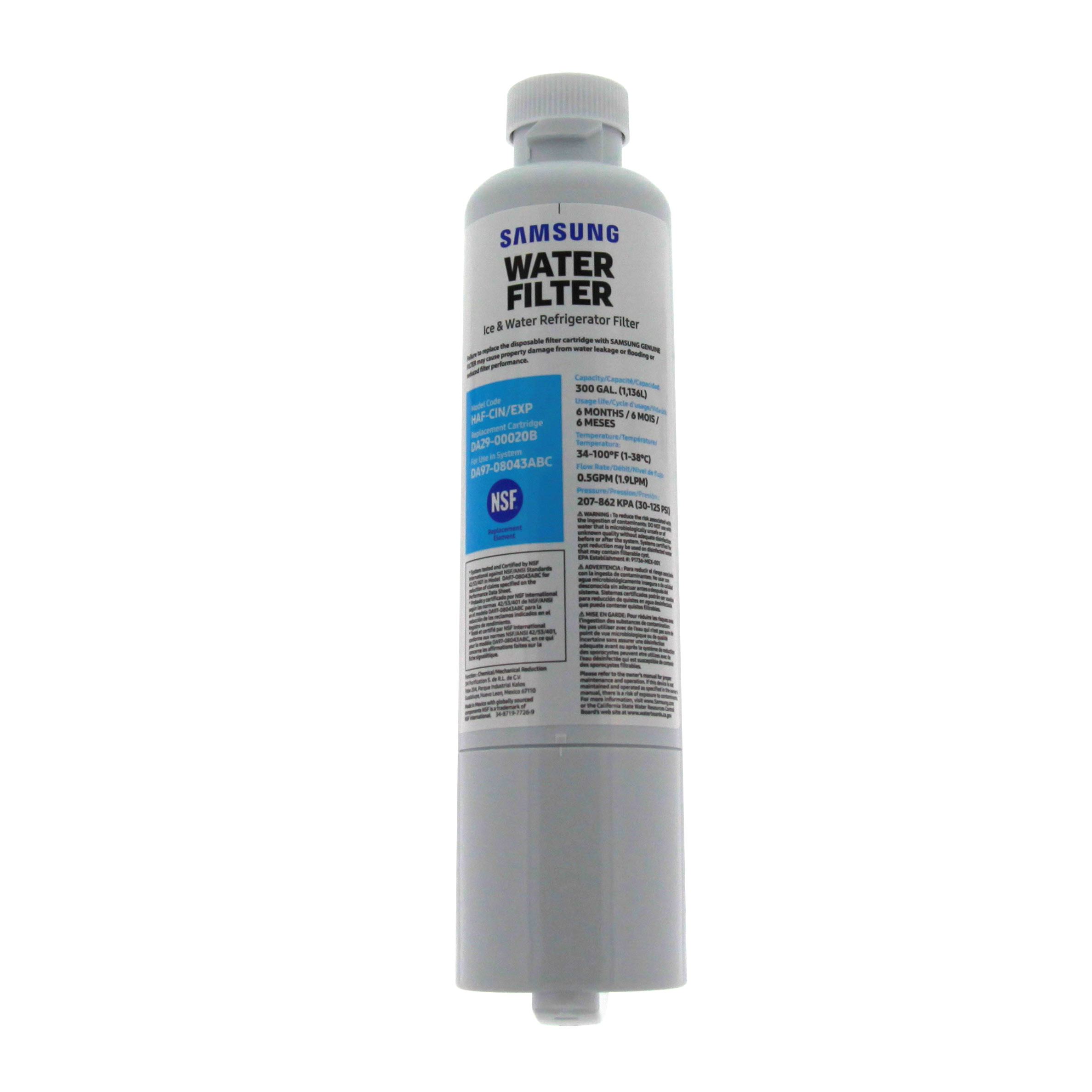 samsung water filter samsung da29 00020b aqua plus haf cin exp refrigerator water filter 36725569768 ebay