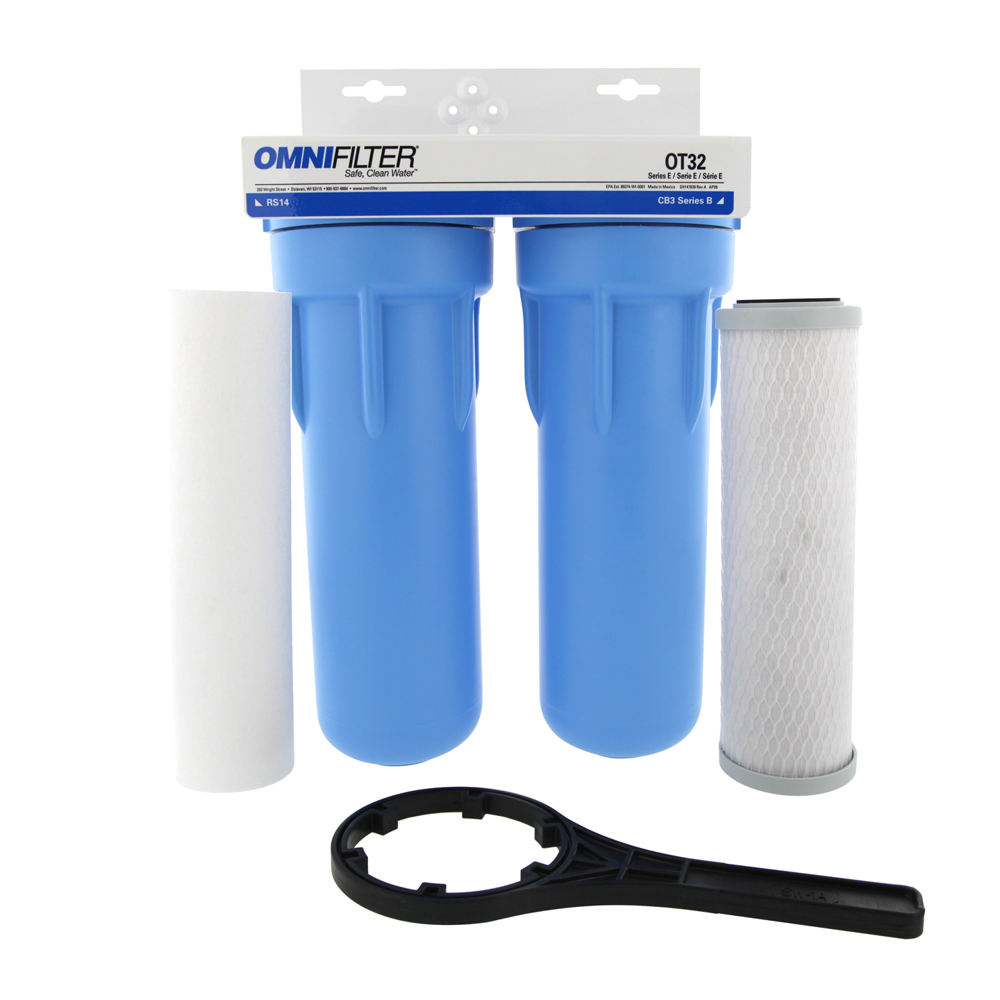 Omnifilter Ot32 S 05 Whole House 2 Step Undersink Water