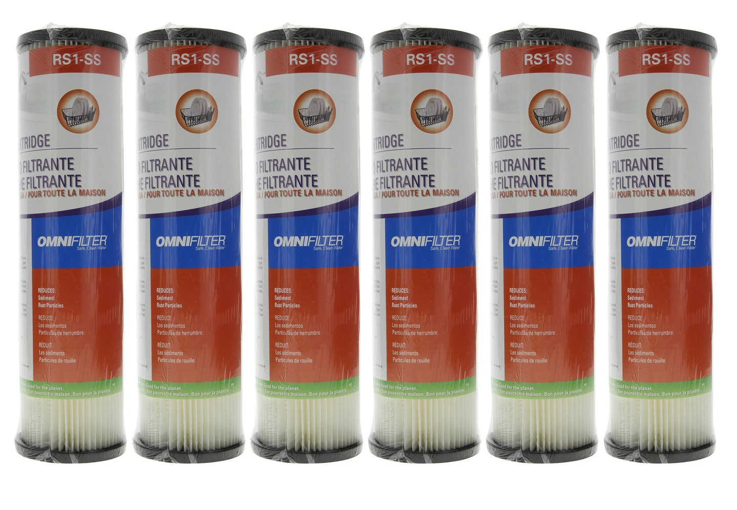 OmniFilter RS1SS 20 Micron 10 x 2.5 Comparable Sediment Filter 20 Pack