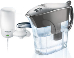 Brita Faucet and Pitcher