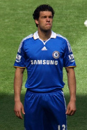 MIchael Ballack of the Chealsea FC