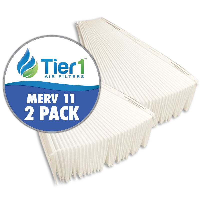 401 Aprilaire Comparable Replacement for 16 x 28 x 6-MERV 11 Air Filter by Tier1 (2-Pack) TIER1-RAF-A401-2PK