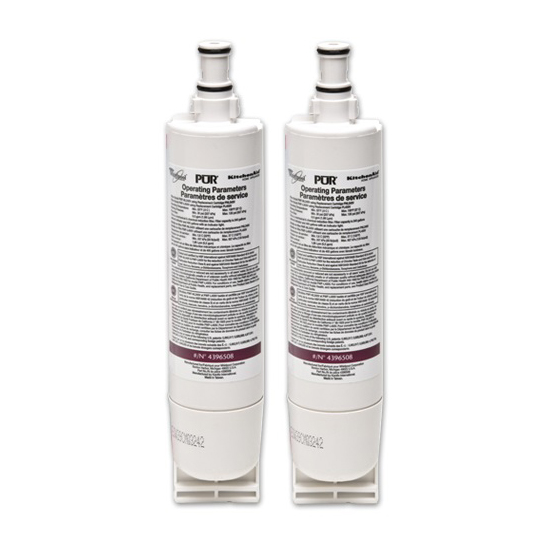 4396508 Whirlpool Refrigerator Water Filter (2-Pack) 4396508_2_PACK