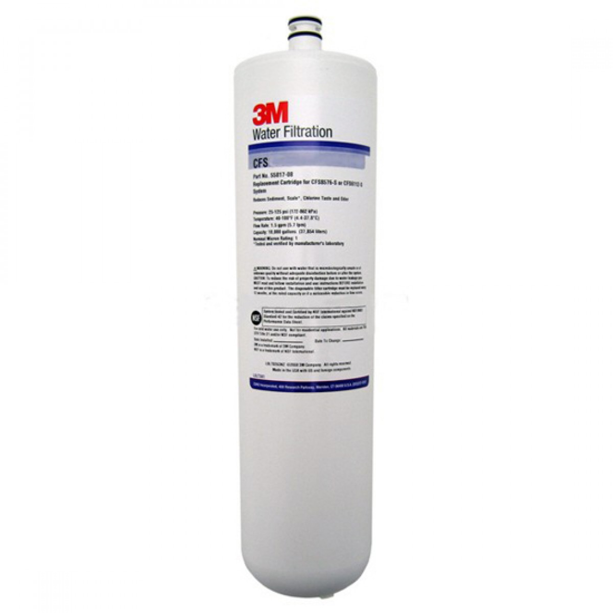 3m Cfs8112 S Whole House Water Filter Cartridge