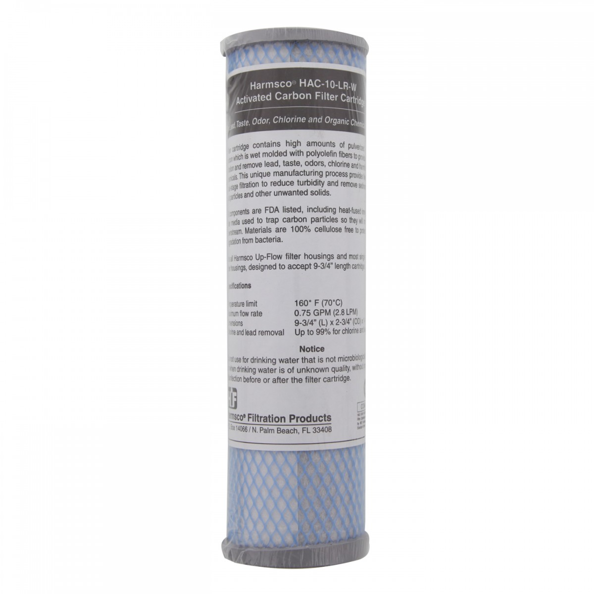 harmsco hac 10 lr w chlorine and lead whole house water filter. Black Bedroom Furniture Sets. Home Design Ideas