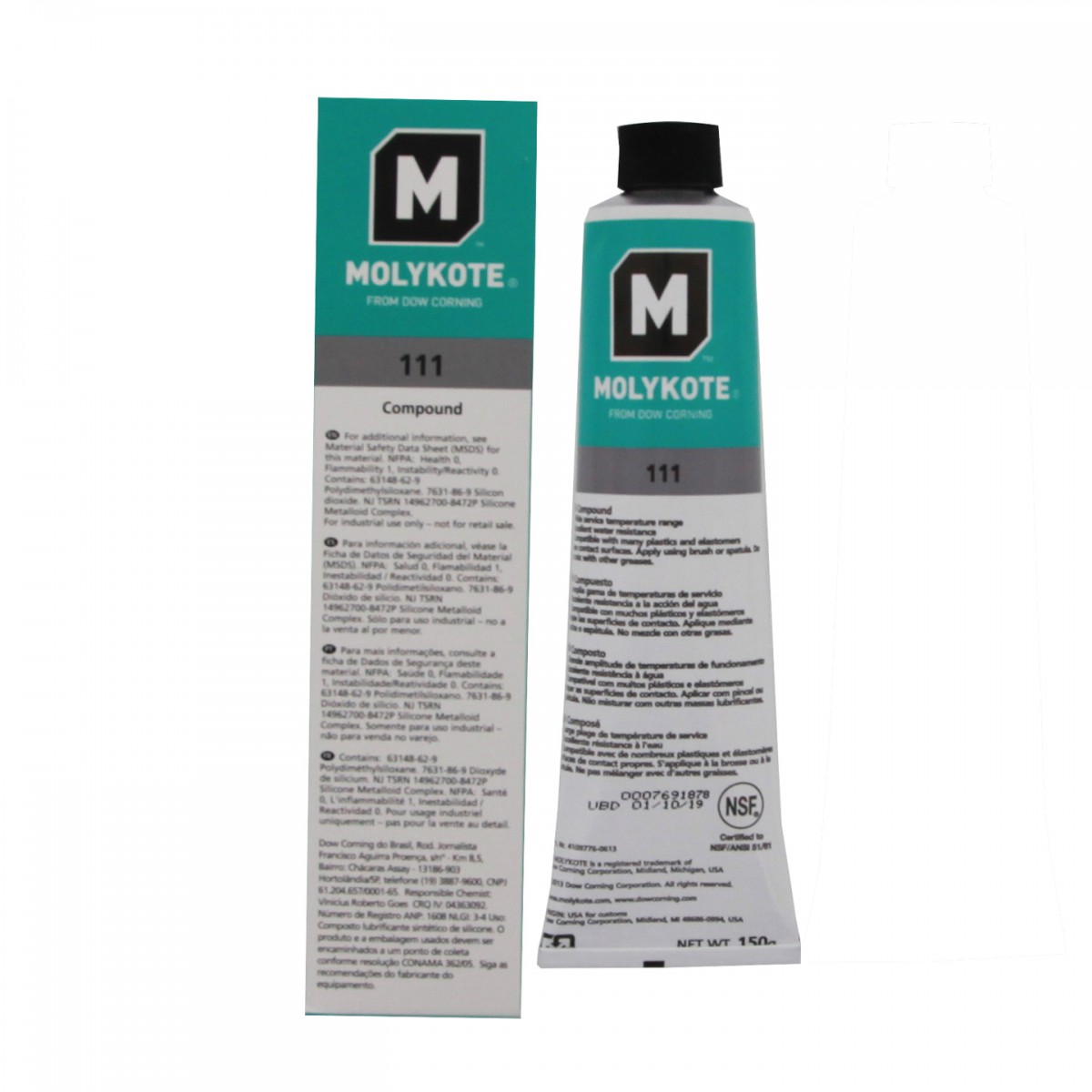 Food-Grade Silicone O-Ring Lubricant by Tier1