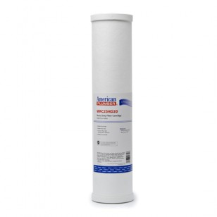 WRC25HD20 American Plumber Whole House 20-inch Heavy Duty Filter Cartridge