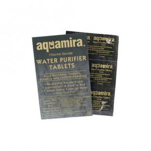 67405 Aquamira Water Purifier Tablets (Military) (10-Pack)