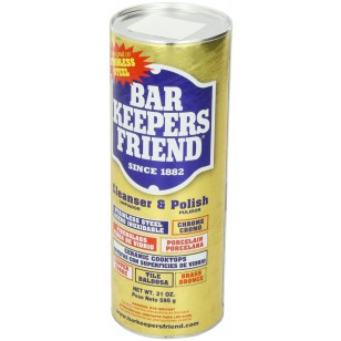 Bar Keepers Friend Cooktop Cleaner (21 ounce, #BK-Cookware-P21)