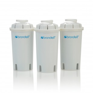 HF-10 Brondell H2O+ Water Pitcher Filters (3-Pack)