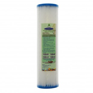 CQE-RC-04001 Crystal Quest Reusable Pleated Water Filter Cartridge