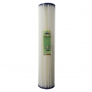 CQE-RC-04034 Crystal Quest Reusable Pleated Water Filter Cartridge