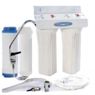 CQE-US-00313 Crystal Quest Undersink Double Ceramic PLUS Water Filtration System