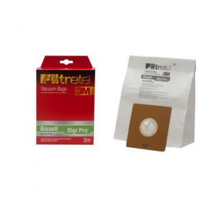 68709A Filtrete Bissell Digi Pro Vacuum Bags (3-Pack)