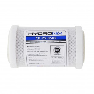 CB-25-0505 Hydronix Replacement Carbon Water Filter