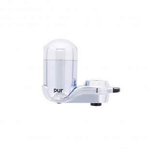 FM-3700B PUR 3-Stage Vertical Faucet Filter System - Chrome