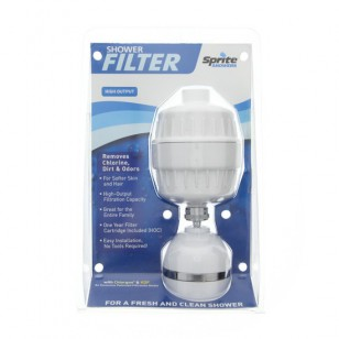 HO-WH Sprite High Output Shower Filter System - White