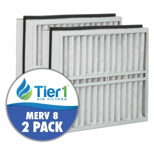 DPFT21X235X5AM8DAD Tier1 Replacement Air Filter - 21X235X5 (2-Pack)