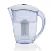 H10-W Brondell H2O+ Water Filter Pitcher (6-Cup, White)