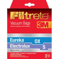 67710 Filtrete Electrolux S and Eureka OX Vacuum Bags (3-Pack)