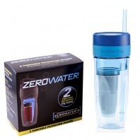 ZeroWater Filtered Tumbler & Replacement Filters (26 ounce, #ZT-M01)