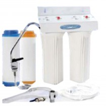 CQE-US-00316 Crystal Quest Undersink Double Fluoride Filtration System