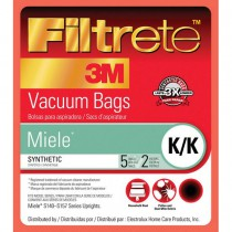 68706 Filtrete Miele K/K Vacuum Bags and Filters (5 bags / 2 filters)
