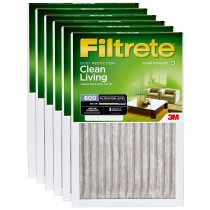 Filtrete 600 Dust and Pollen Filter - 20x25x1 (6-Pack)