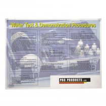 Pro Products Test Instruction Placemat Promat