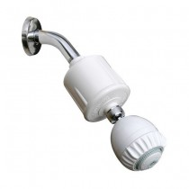 RS-502-MS Rainshowr Shower Filter System with Massage - White