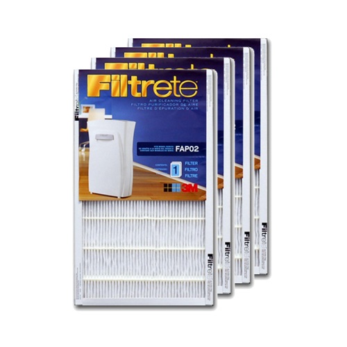 Filtrete FAPF02-4 Ultra Clean Air Purifier Replacement Filter (4-Pack) FILTRETE_FAPF02_4_PACK