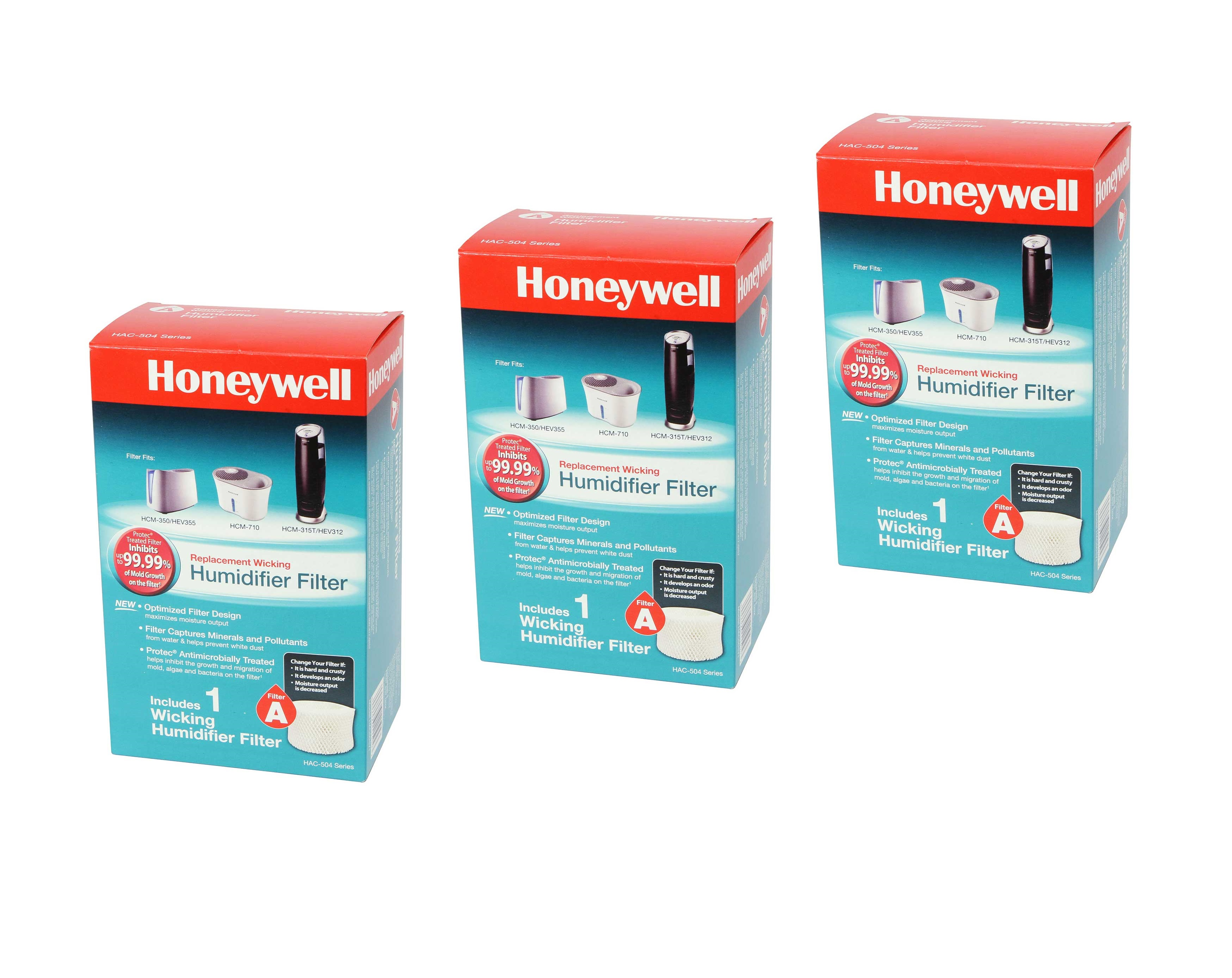 HAC-504AW Honeywell Replacement Humidifier Filter (3-Pack) HONEYWELL_HAC504V1_3_PACK