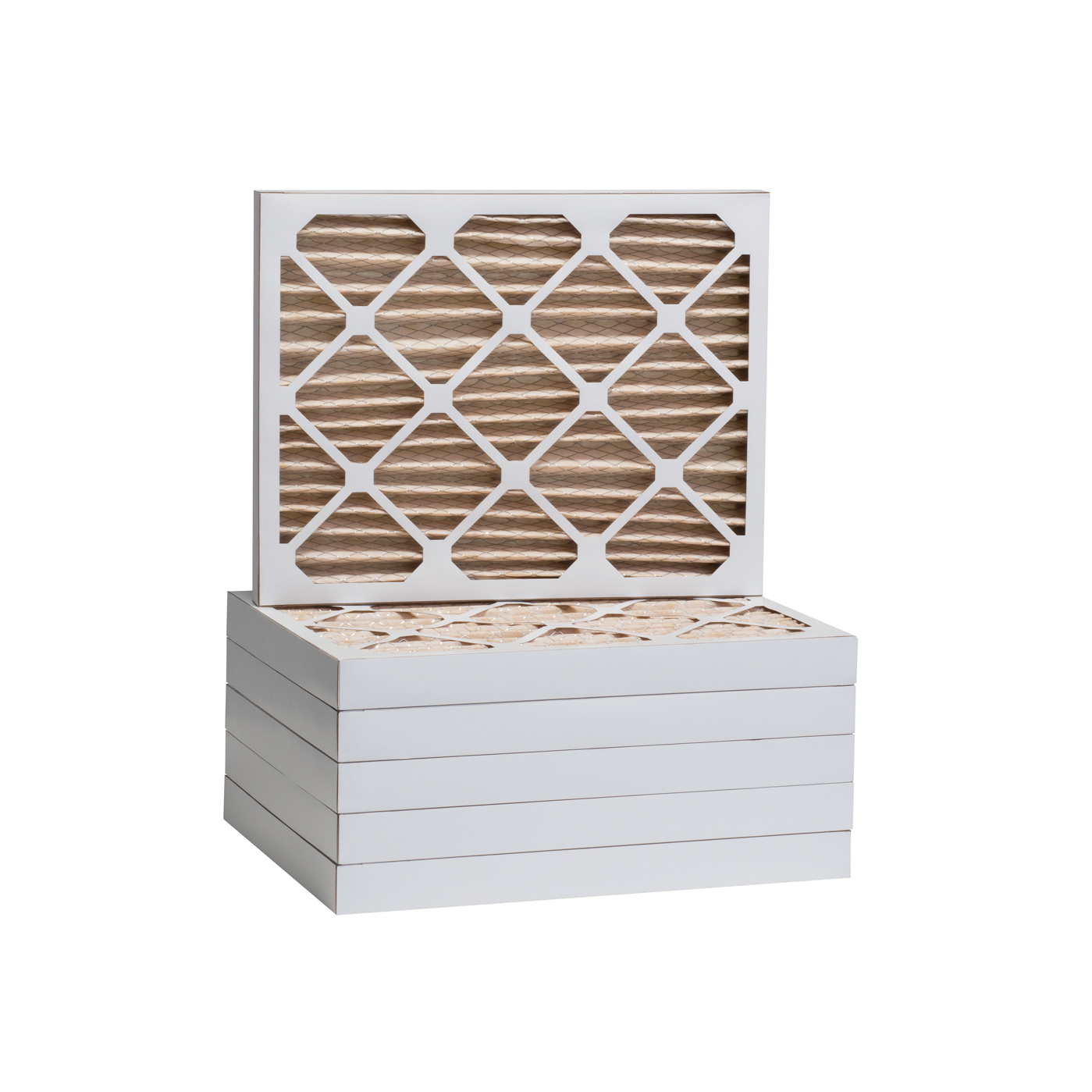 Tier1 1500 Air Filter - 20 x 22-1/4 x 2 (6-Pack) TIER1_P15S_622022D_6_PACK