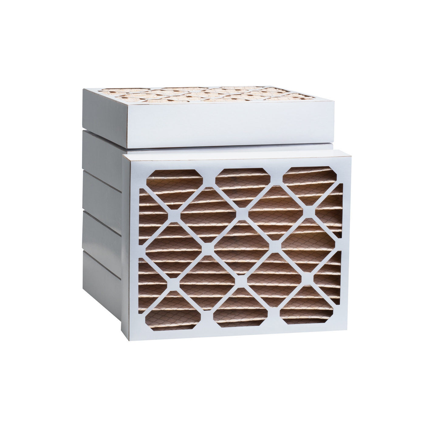 Tier1 20 x 22-1/4 x 4  MERV 11 - 6 Pack Air Filters (P15S-642022D) TIER1_P15S_642022D_6_PACK