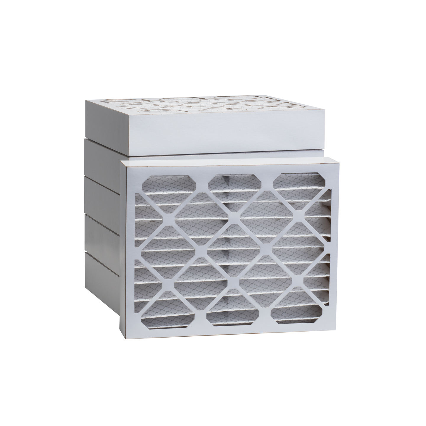 Tier1 20 x 22-1/4 x 4  MERV 8 - 6 Pack Air Filters (P85S-642022D) TIER1_P85S_642022D_6_PACK