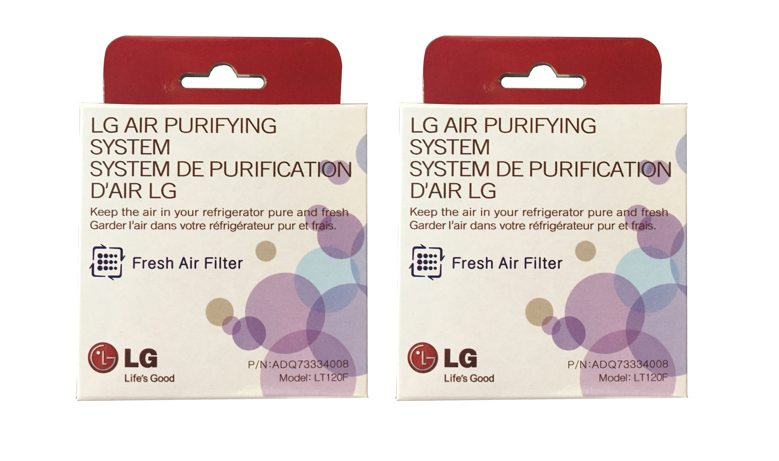 LT120F Fresh Air Replacement Filter by LG (2-Pack) LT120F_2_PACK