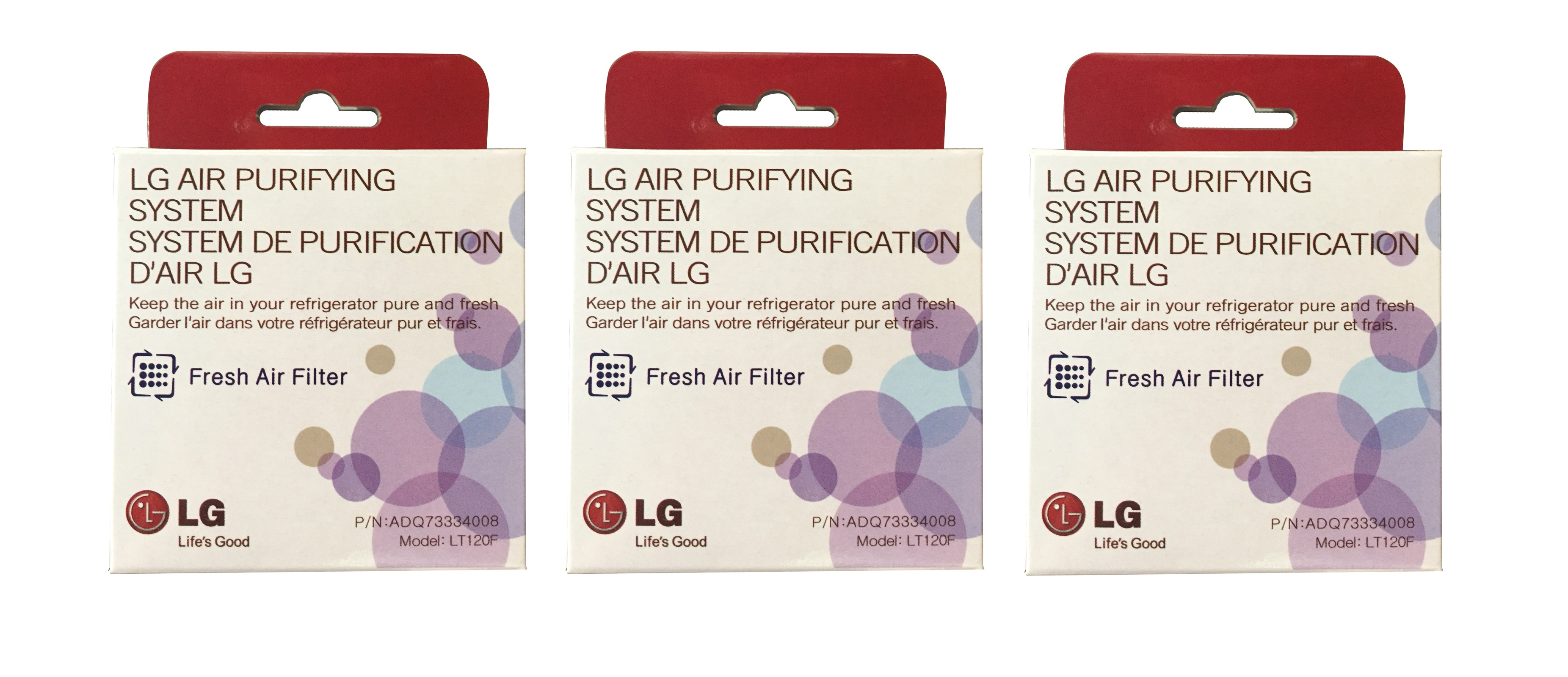 LT120F Fresh Air Replacement Filter by LG (3-Pack) LT120F_3_PACK