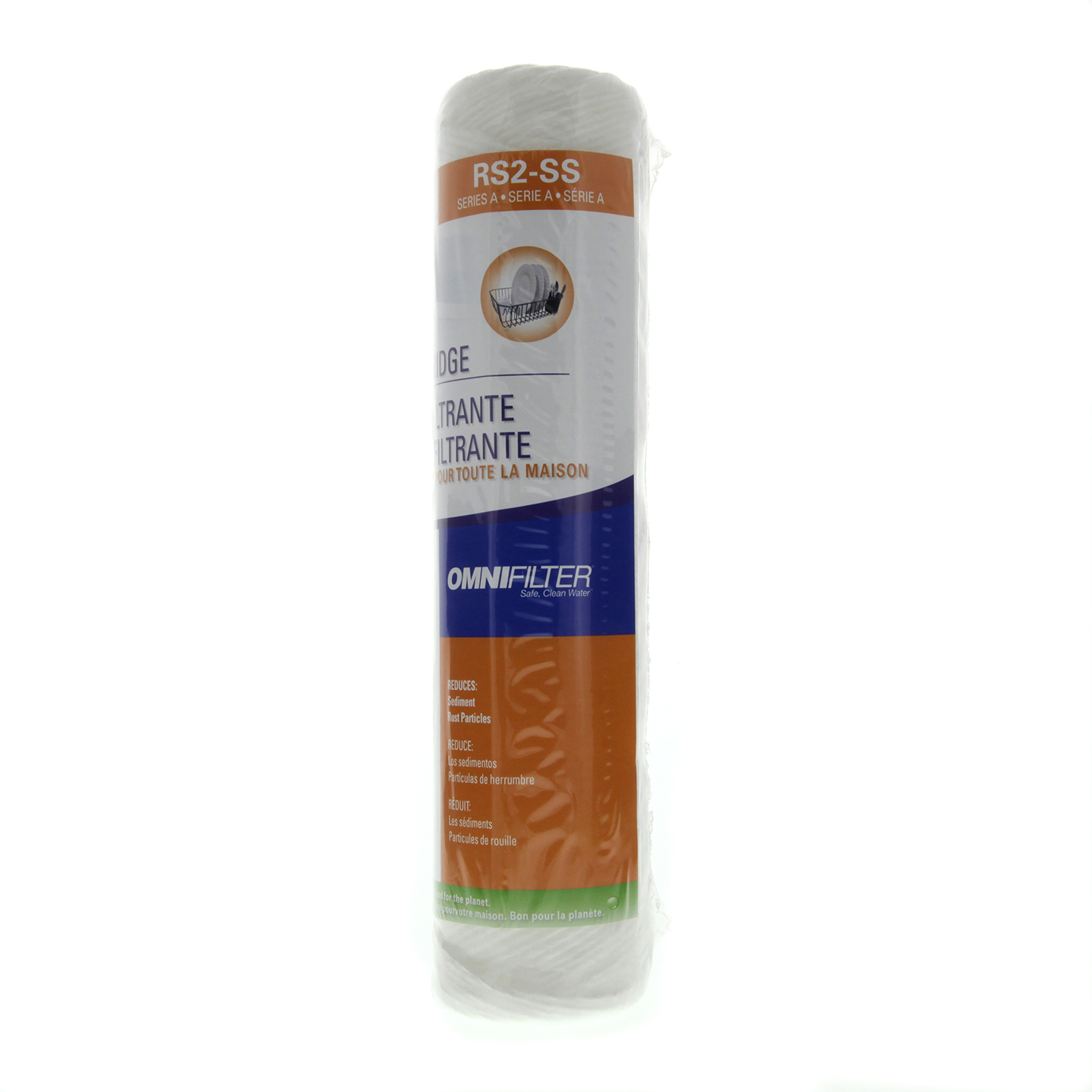 RS2-SS OmniFilter Whole House Water Filter Cartridge