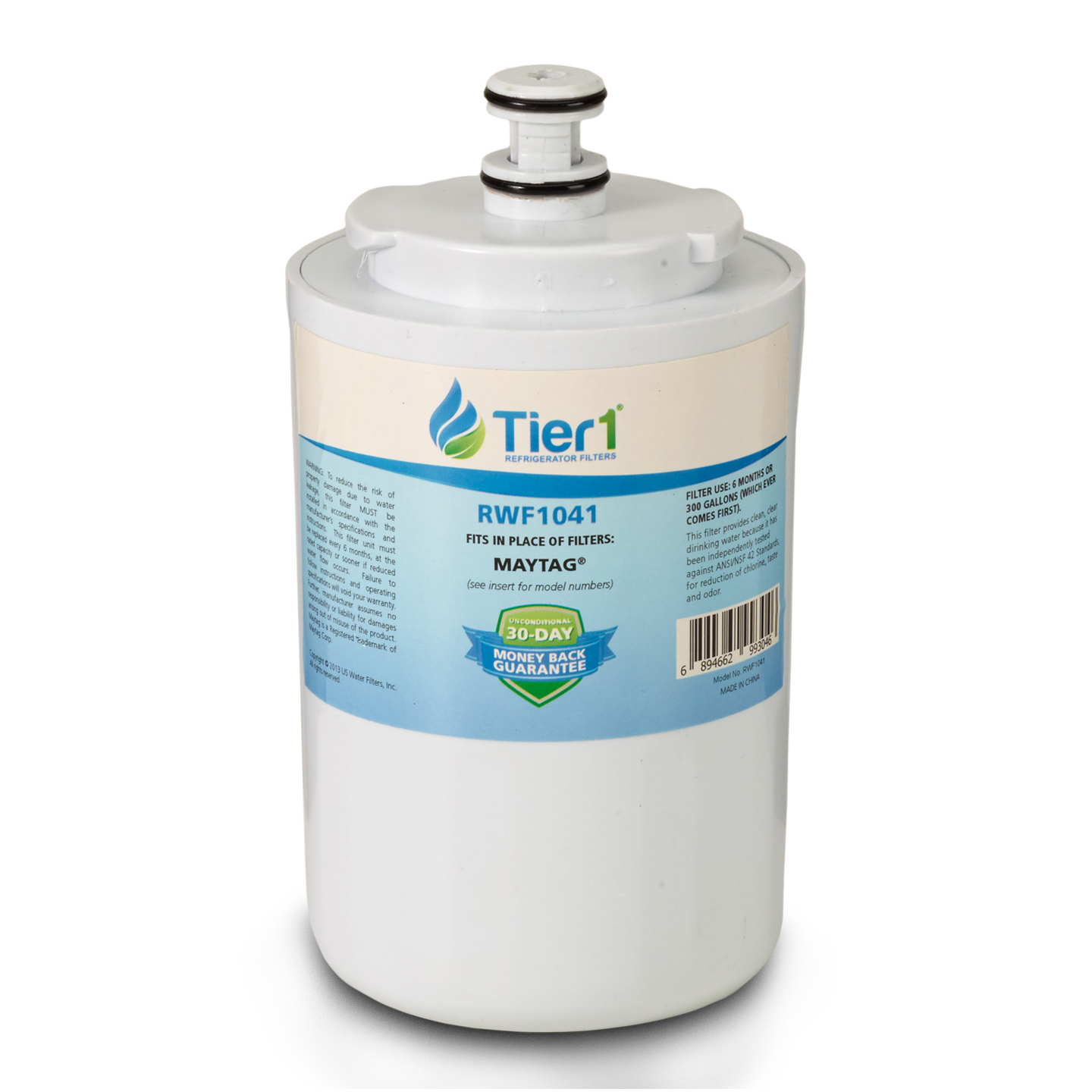 Tier1 EveryDrop EDR7D1 Maytag UKF7003 Refrigerator Water Filter Replacement Comparable TIER1-RWF1041