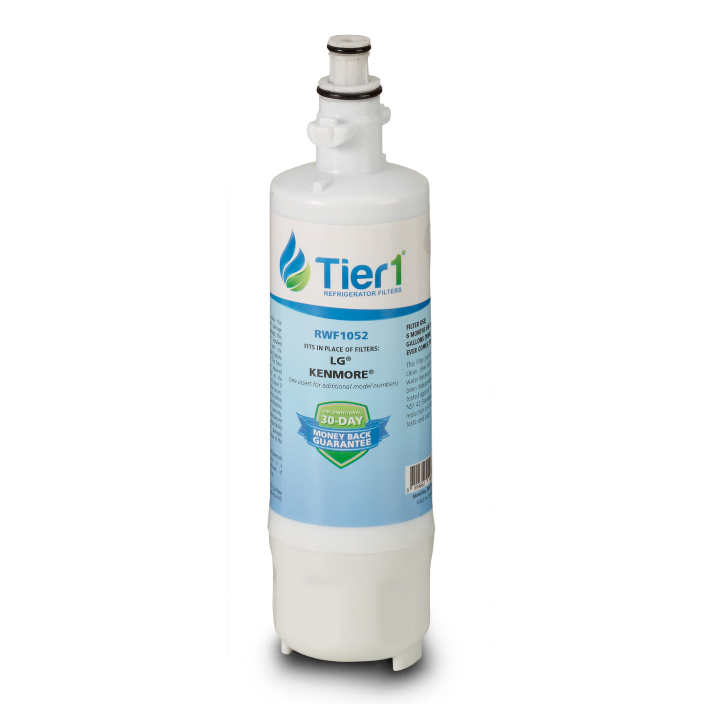 Tier1 LG LT700P Refrigerator Water Filter Replacement Comparable TIER1-RWF1052