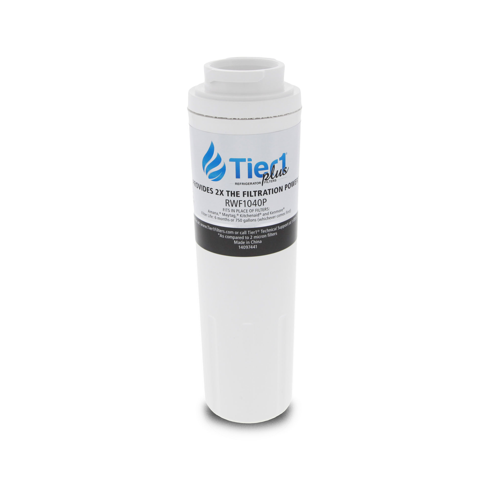 EDR4RXD1 EveryDrop UKF8001 Maytag Comparable Refrigerator Water Filter Replacement By Tier1 TIER1_RWF1040_TY