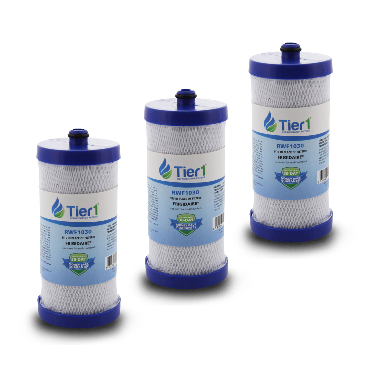 WFCB / WF1CB Frigidaire Comparable Water Filter Replacement By Tier1 (3 Pack) TIER1_RWF1030_3_PACK