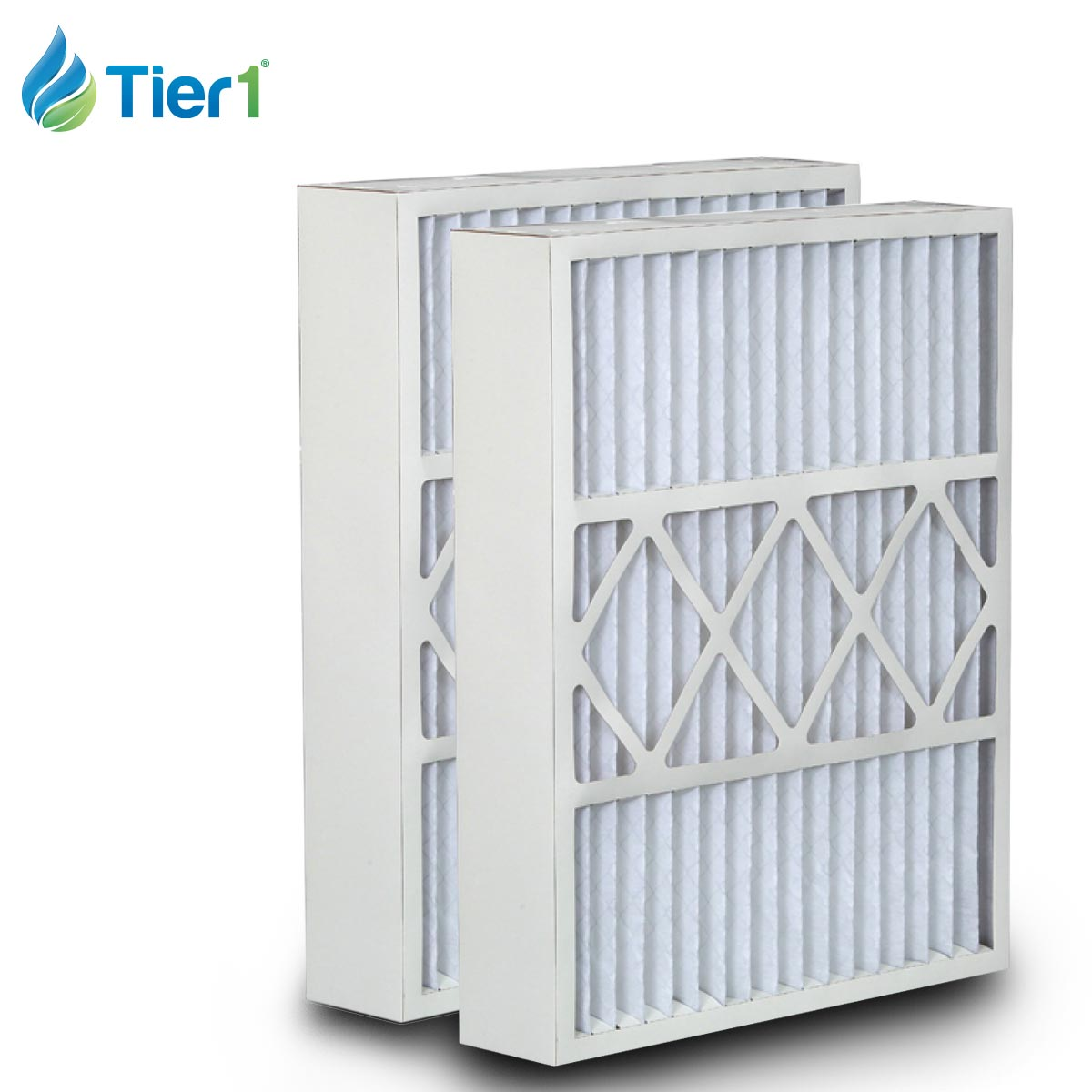Tier1 brand replacement for Electro Air - 16 x 26 x 5 - MERV 13 (2-Pack) TIER1-DPFI16X26X5M13DEA