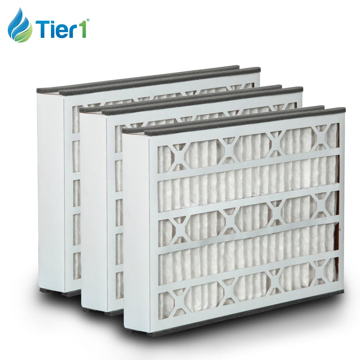 Tier1 brand replacement for BDP - 16 x 25 x 3 - MERV 8 (3-Pack) TIER1-DPFR16X25X3DBP