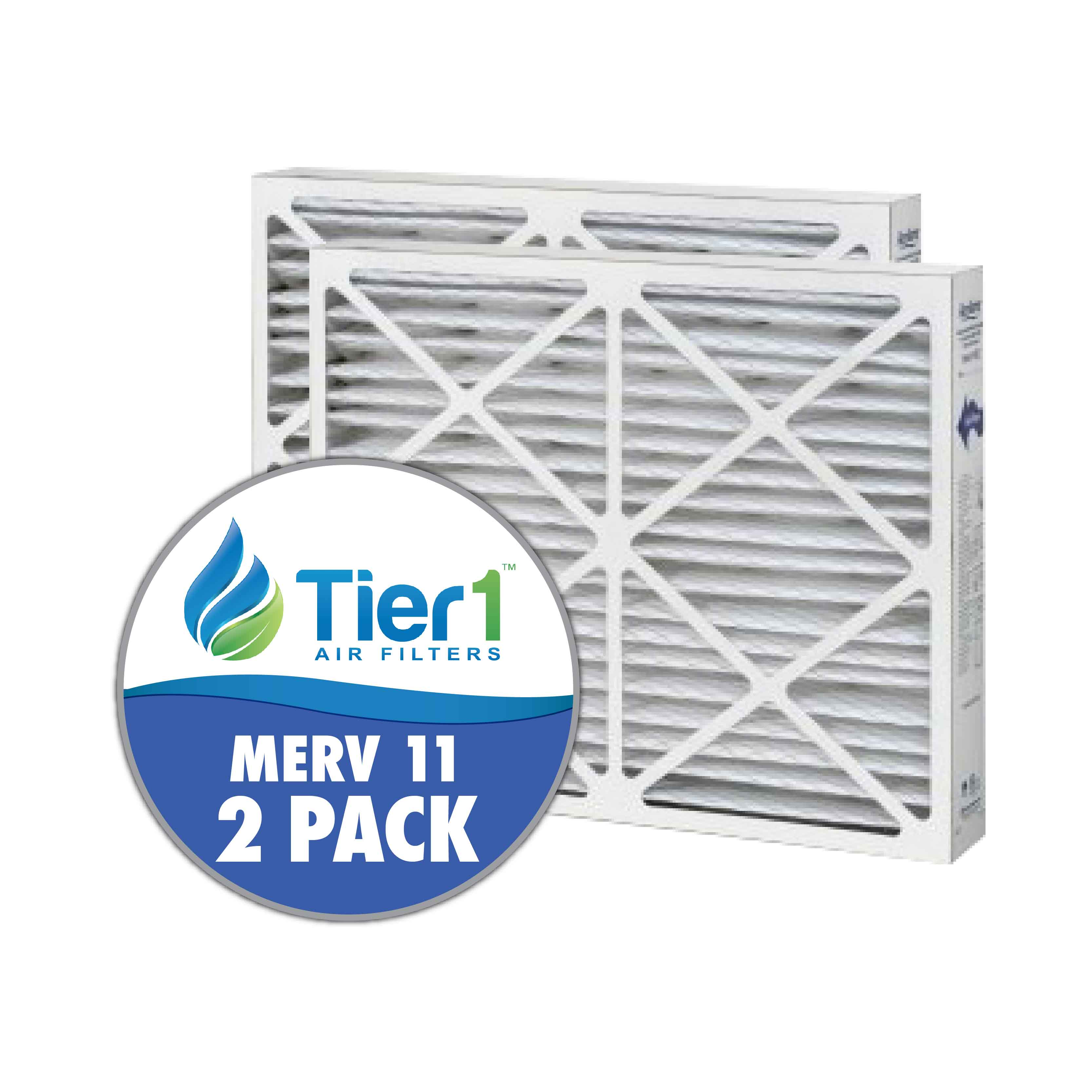 Tier1 brand replacement for Aprilaire #102 - 20 x 25.25 x 3.5 - MERV 11 (2-Pack) TIER1-DPFS20X2525X350M11