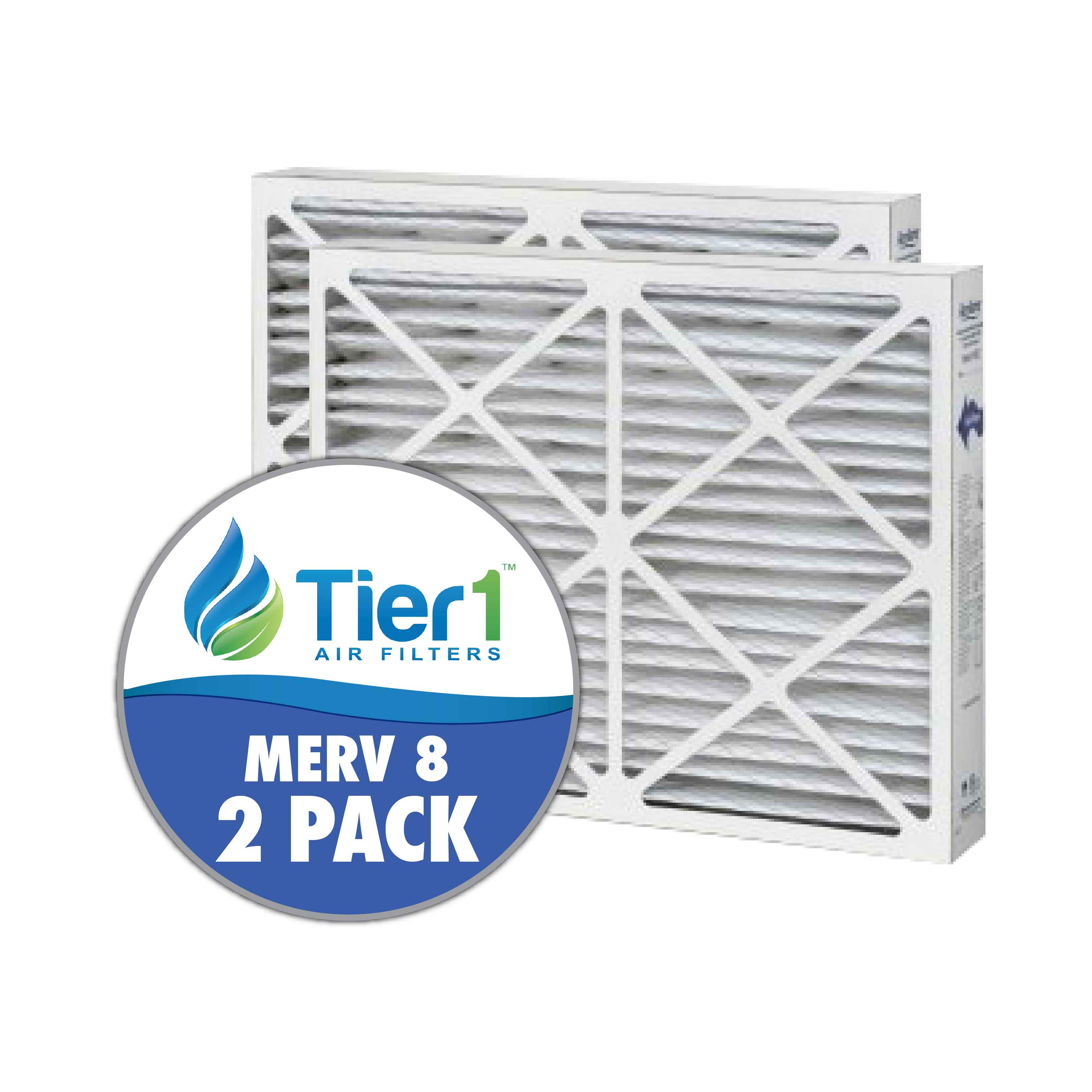 Tier1 brand replacement for Aprilaire #201 - 20 x 25 x 6 - MERV 8 (2-Pack) TIER1-DPFS20X25X6