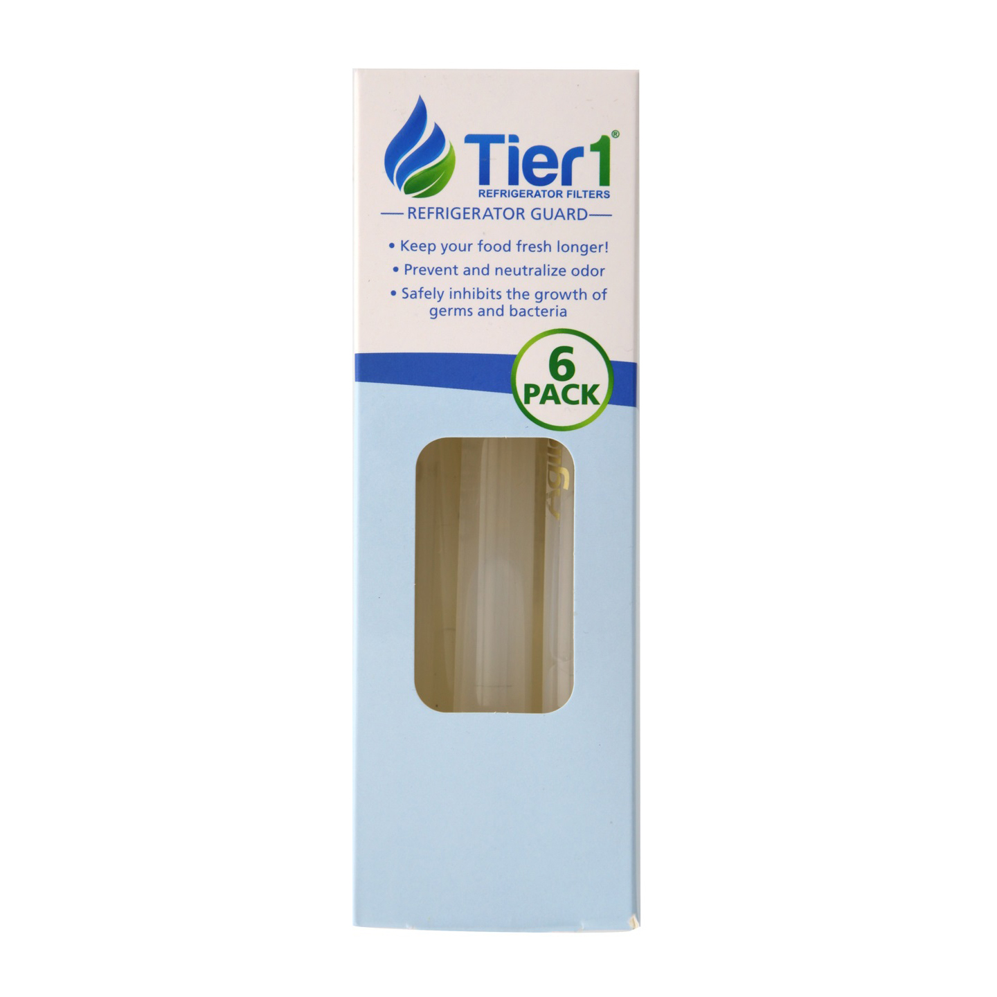 Tier1 Universal Refrigerator Odor Reduction and Bacteria Inhibiting Air Freshener (6 Pack) TIER1-RAF1160-6PK