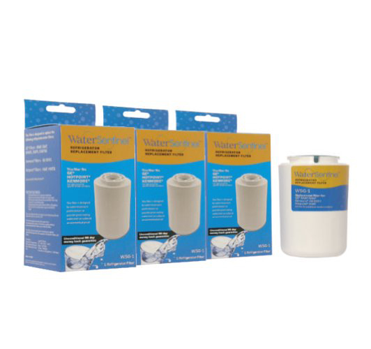 MWF Whirlpool Replacement Refrigerator Water Filter WSG-1 (3-Pack)